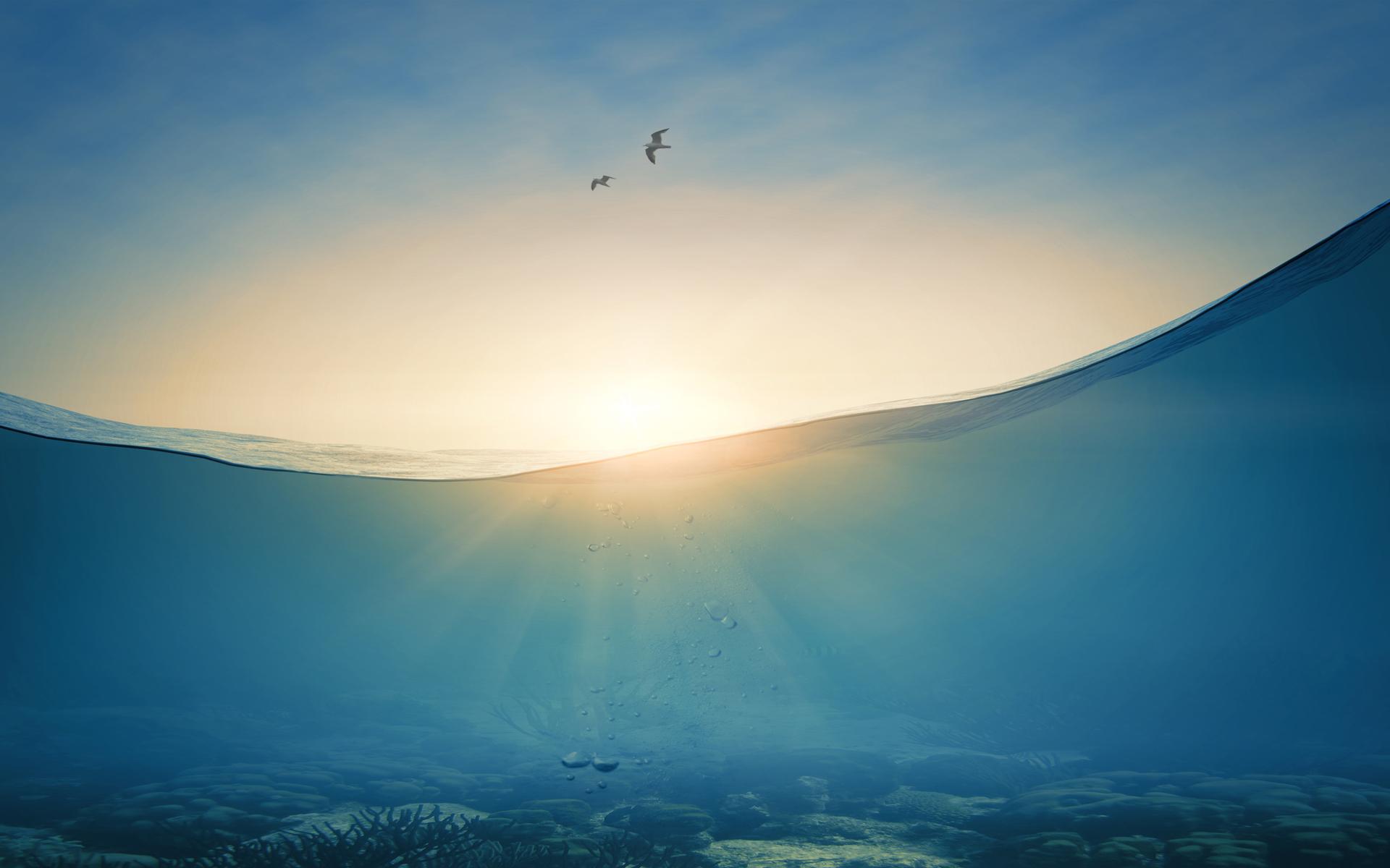 Gleichgewicht-Meer